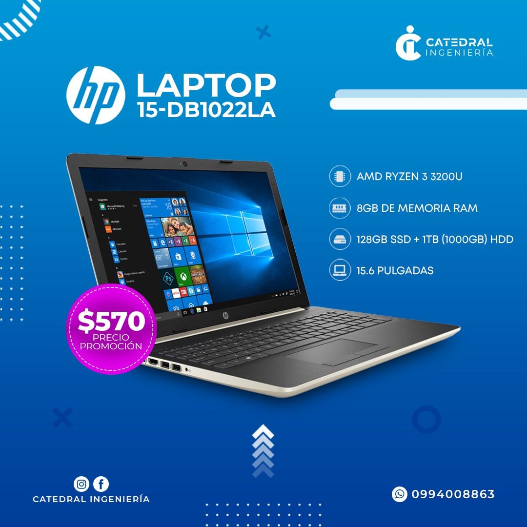 Laptop HP 14-cf3025la Intel Core i5-1035G1 10ma Gen