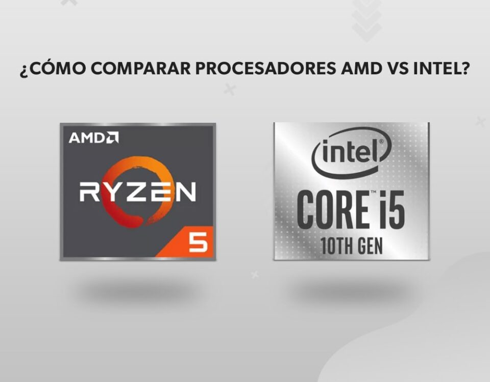 ¿Cómo comparar procesadores AMD vs Intel?