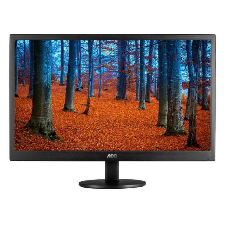 """Monitor AOC de 16"""" LED USB E1670SWU-E"""